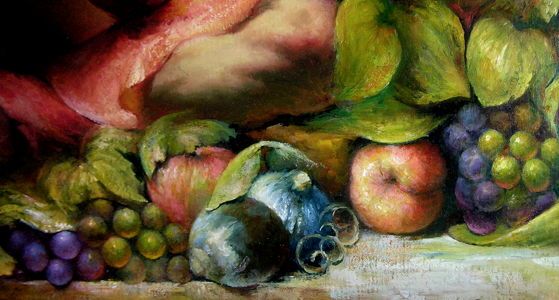 Detail of Interpretation 1 of Autumn by Corrado Giaquinto