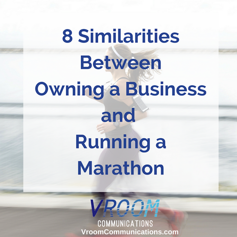 8 similarities between owning a business and running a marathon