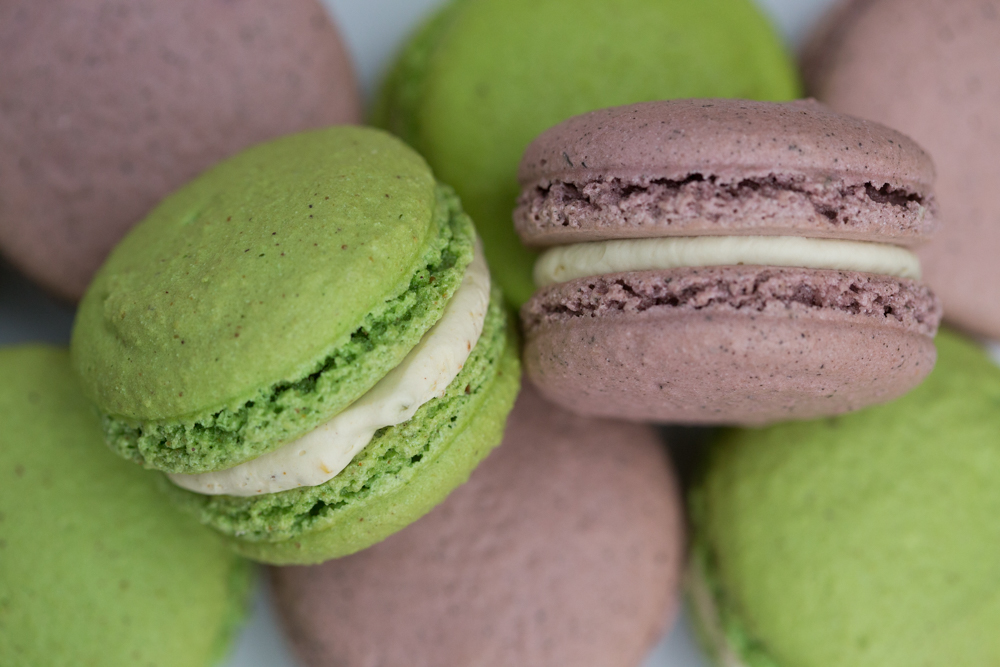 Don't forget the macarons!