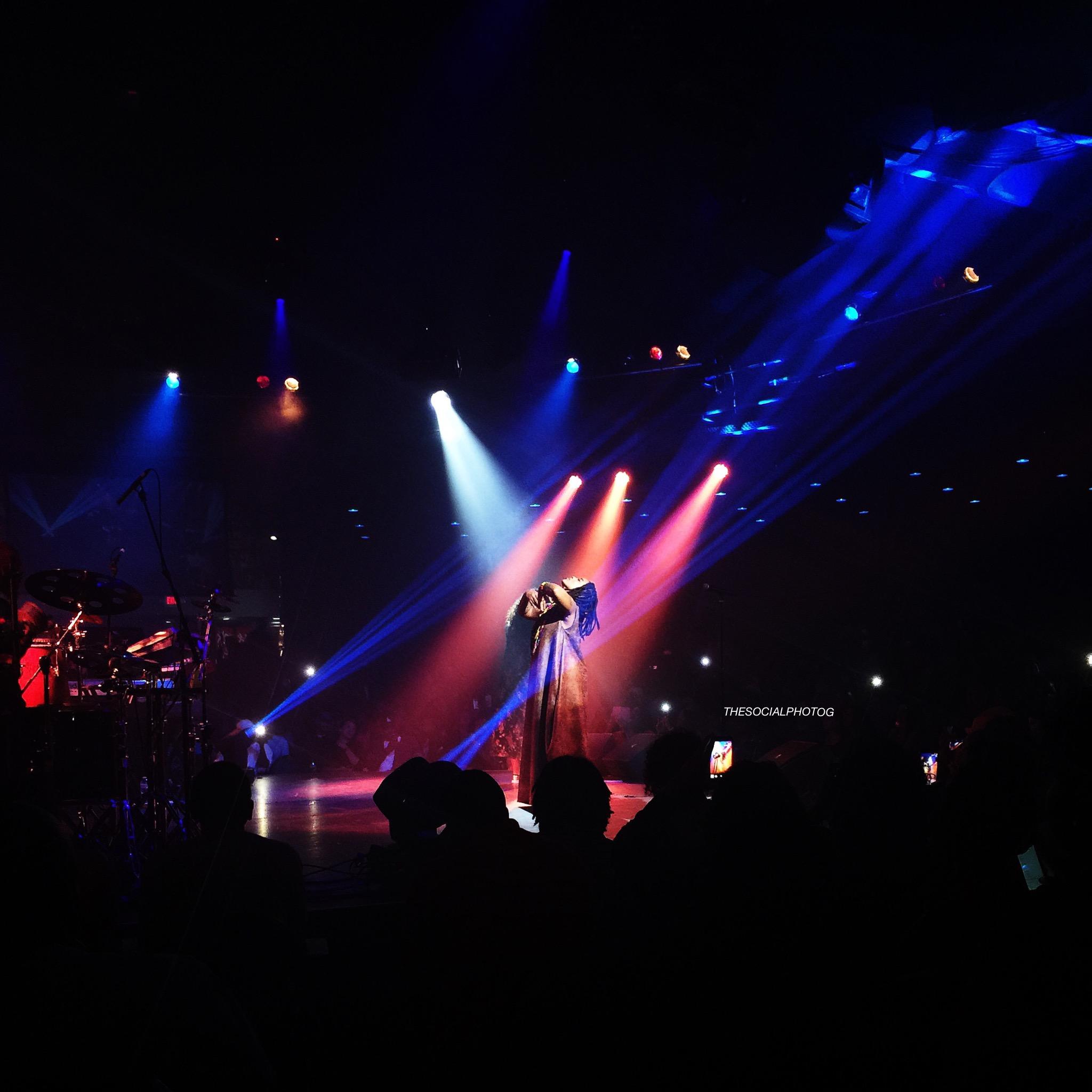 "Natalie Stewart ""The Floacist"" on Floetry Reunion Tour. Phoenix, AZ 2016"