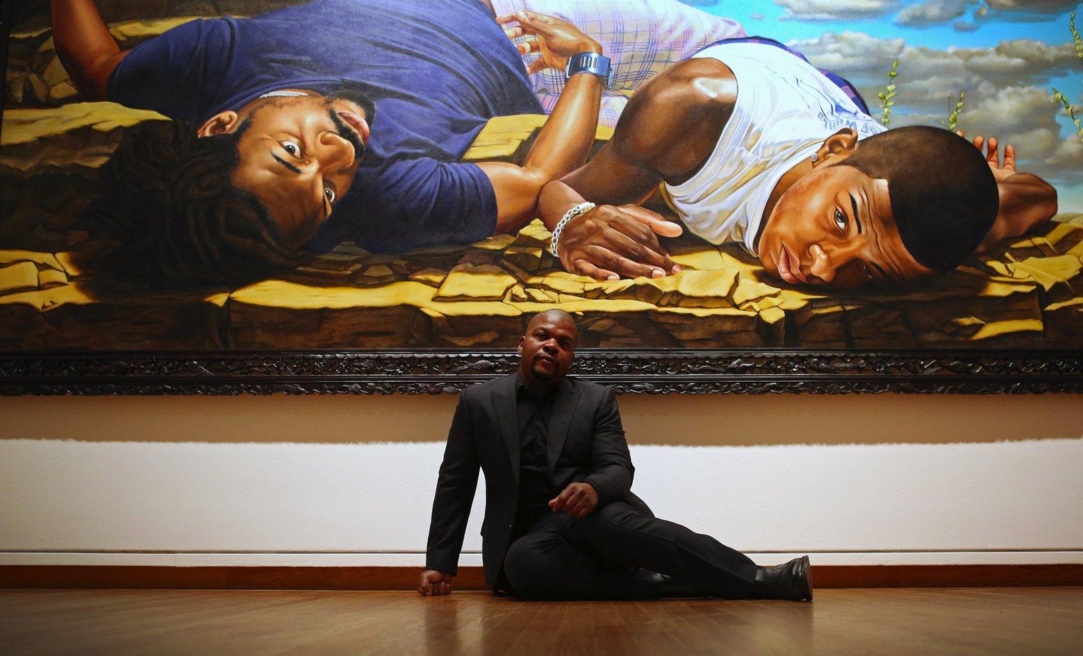 Click photo ->KehindeWiley.com