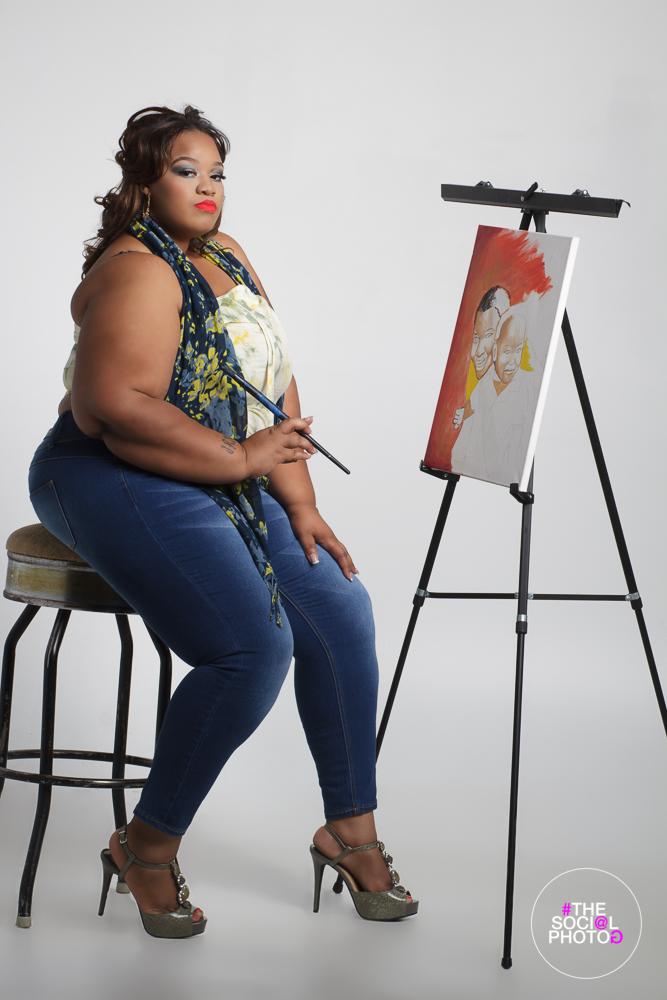 Ms Tempe Plus America 2017: Cornelia Bradley