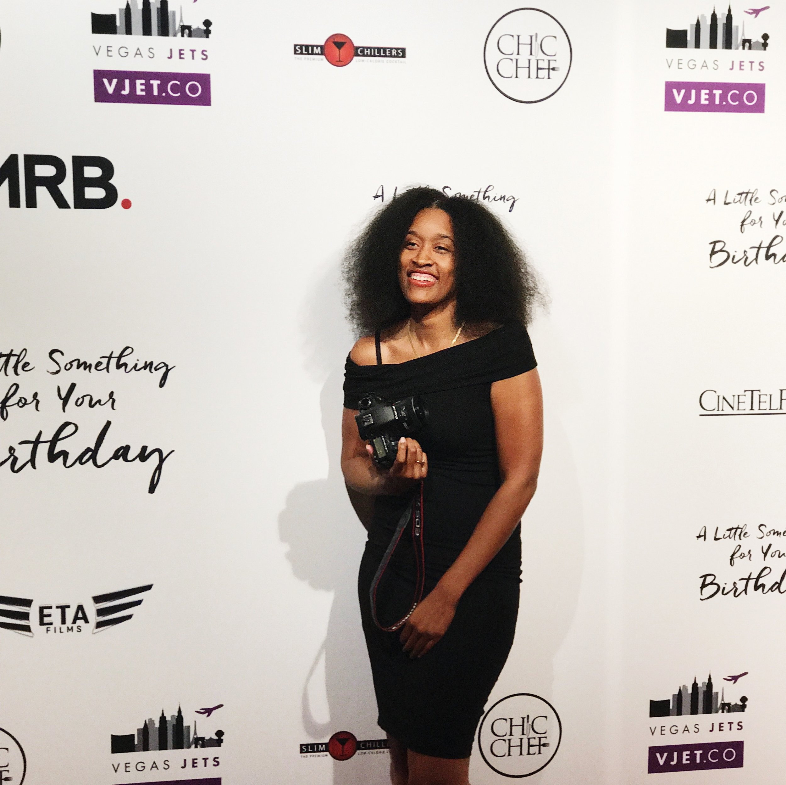 Photographer, Deanna S Reid at A Little Something for Your Birthday Movie Premiere