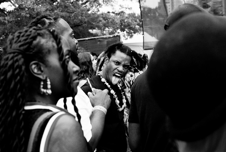 Film: Denzel Curry at Afropunk. Brooklyn, NY 2018
