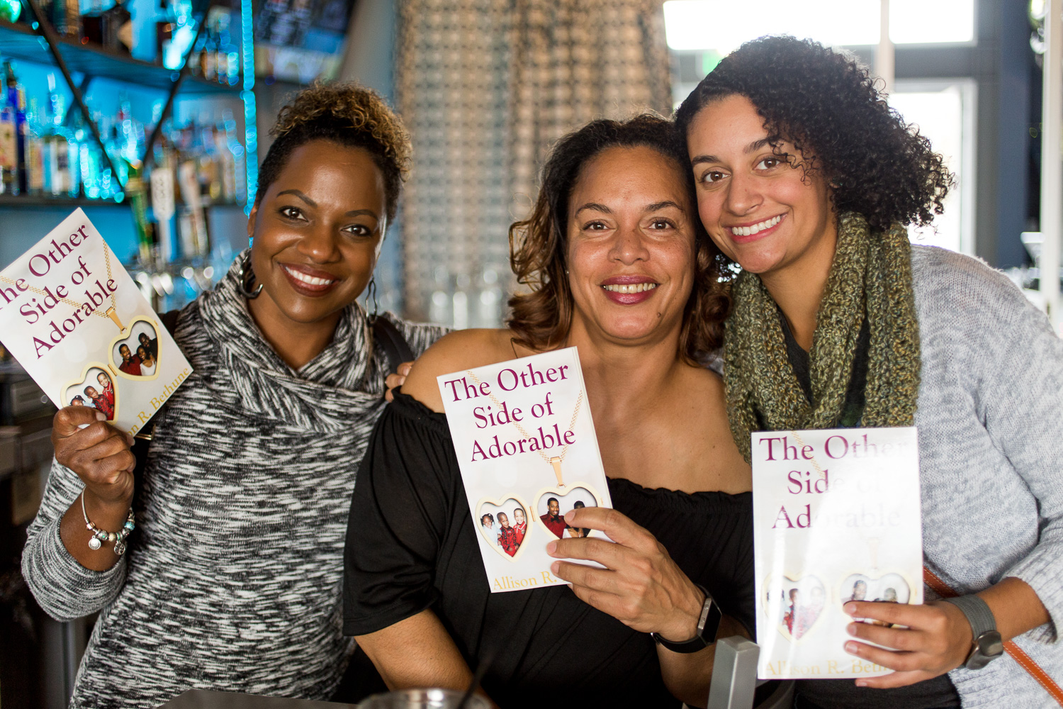 "author Allison R. Bethune ""The Other Side of Adorable"" book signing"