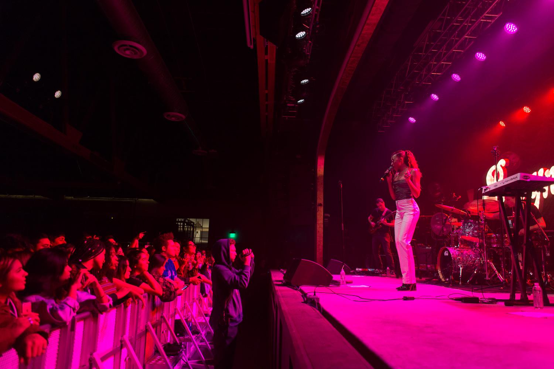 Ravyn Lenae at The Van Buren. Phoenix, AZ 2018