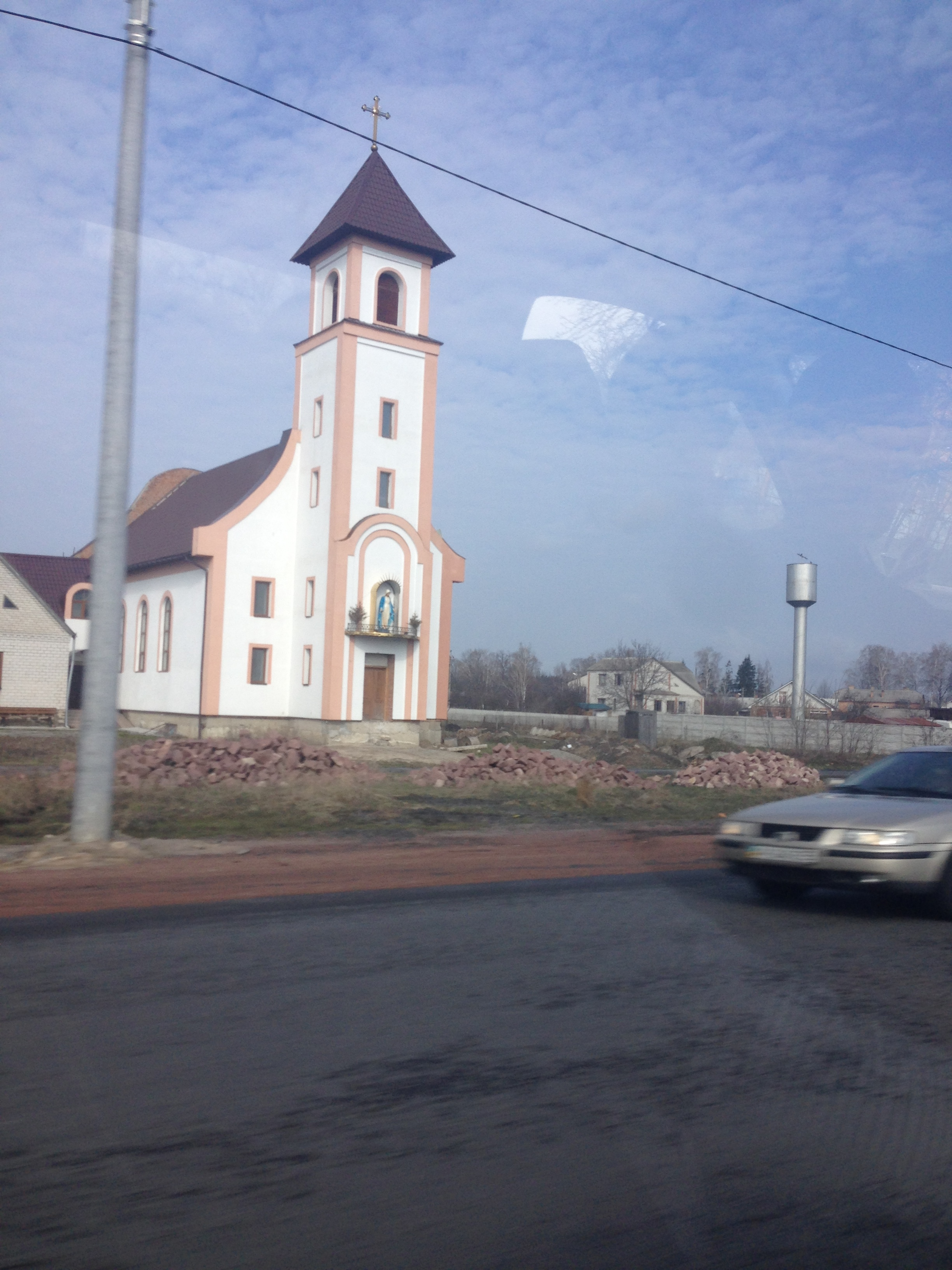 One of the pretty Polish churches we passed.