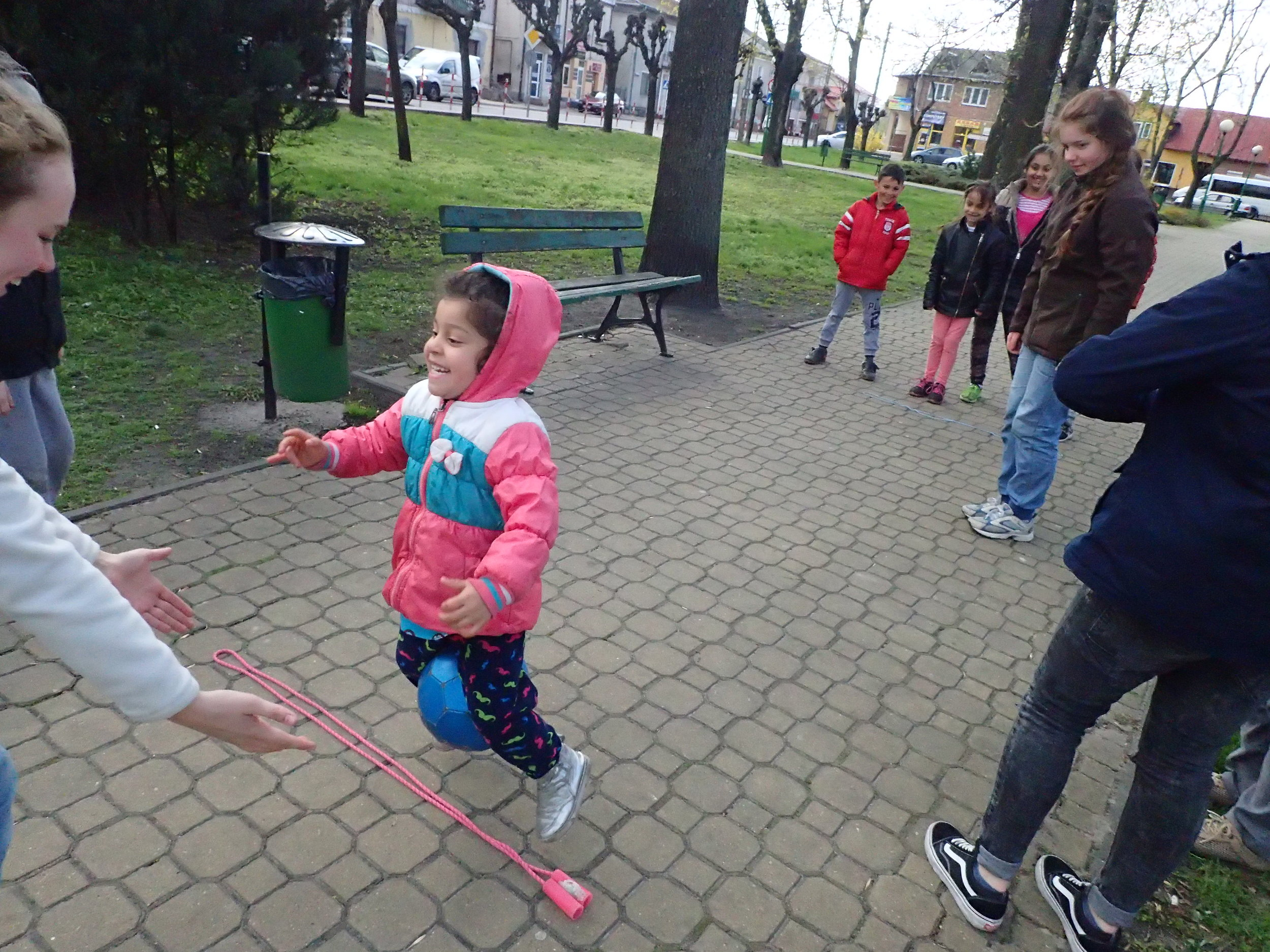 One of our fun games in the park!