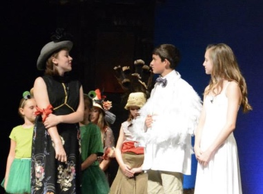 Honk! Jr., Campanile Productions, summer 2014. I was 16 at the time and it was my first real theater production aside from church plays.