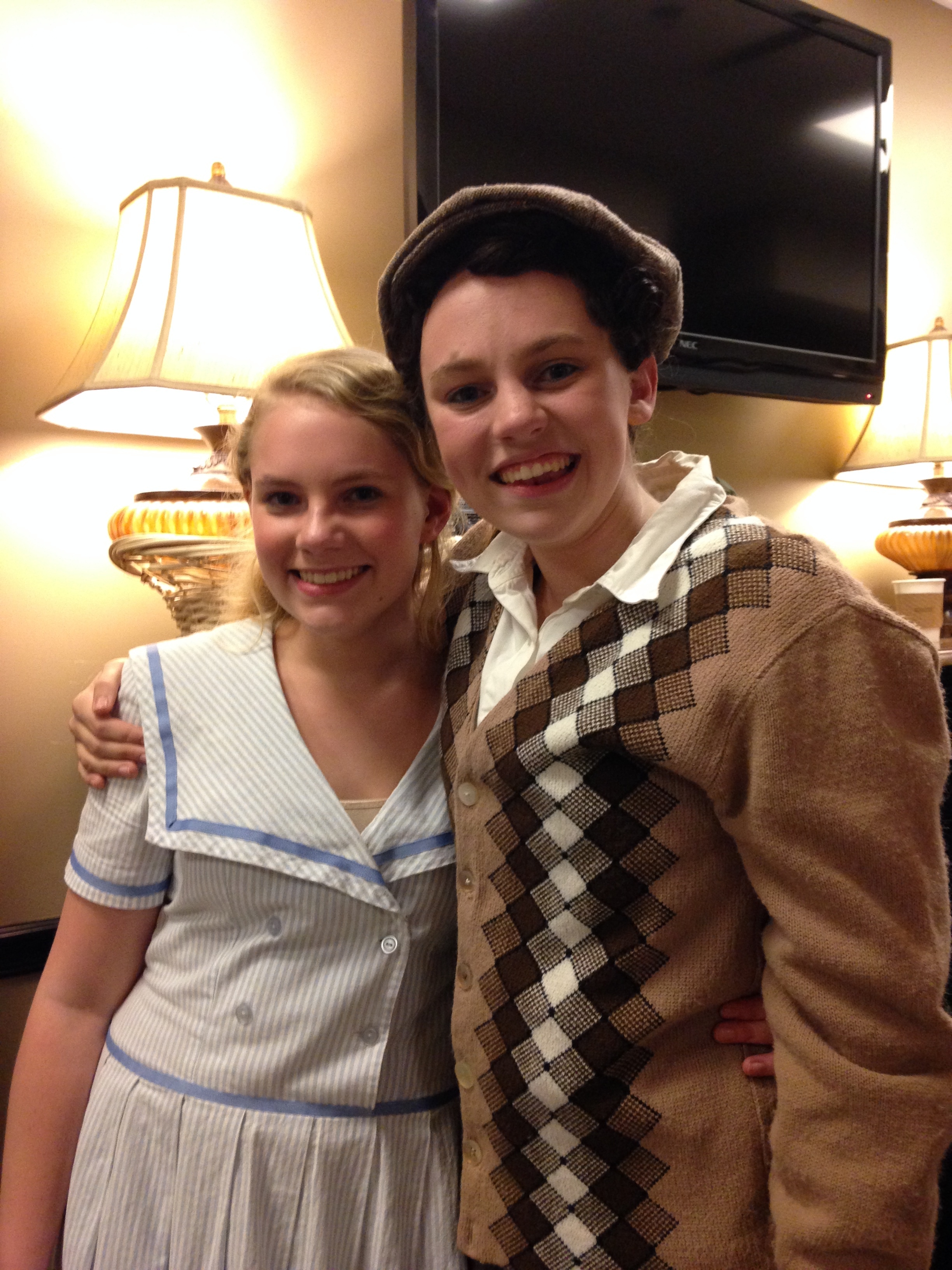 Me and Grace after our final show!