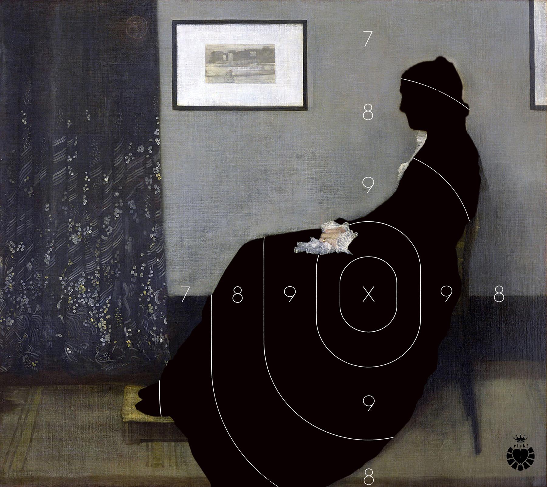 Whistler's Risk / 40 x 45 / Original Sold