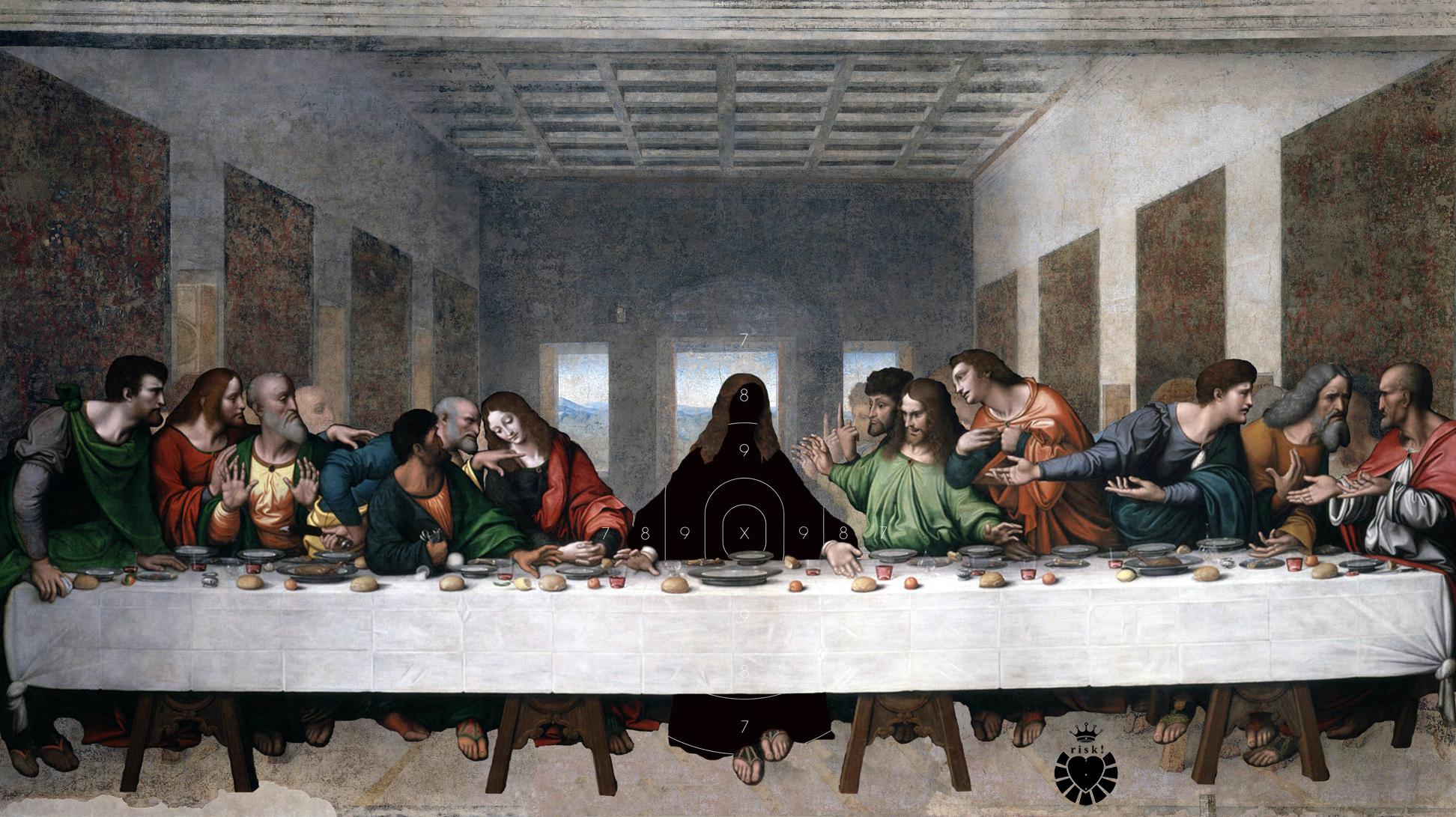 Da Vinci's Last Risk / 48 x 55