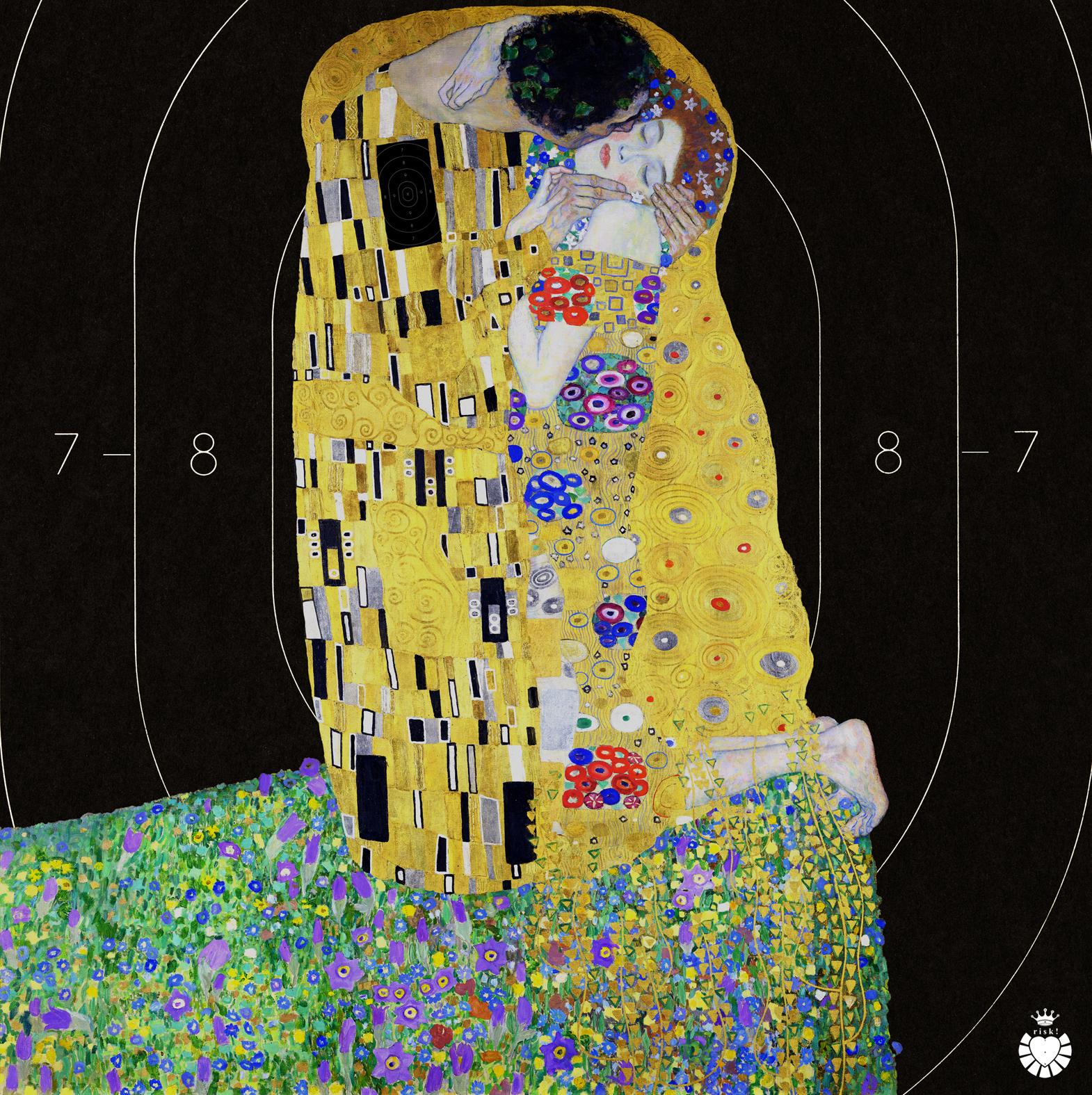 Klimpt's Risk / 36 x 35 / Original Sold