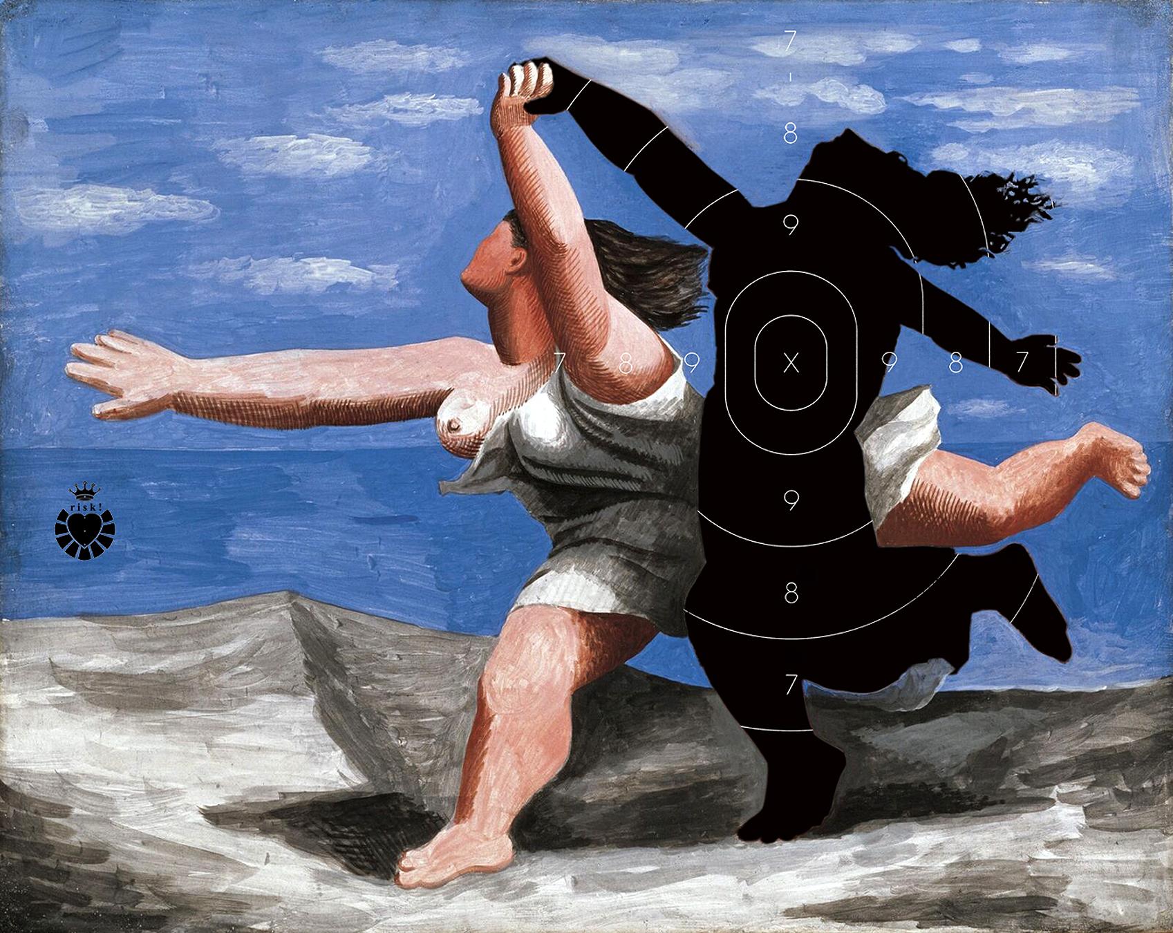 Picasso's Risk / 48 x 60