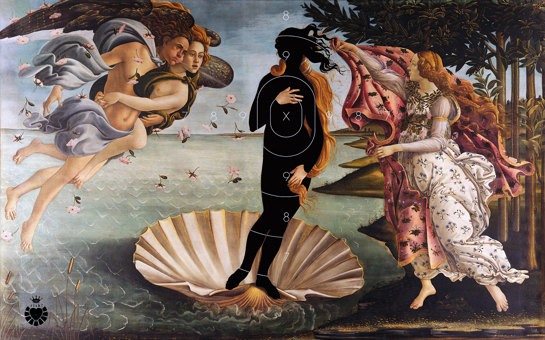 Botticelli's Risk / 36 x 57