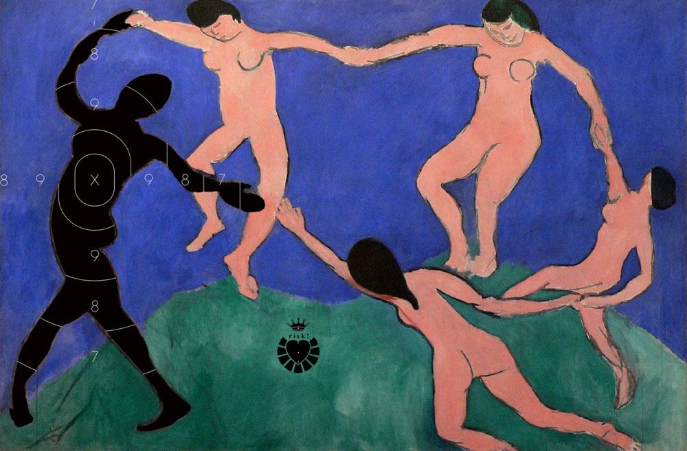 Matisse's Risk / 36 x 54