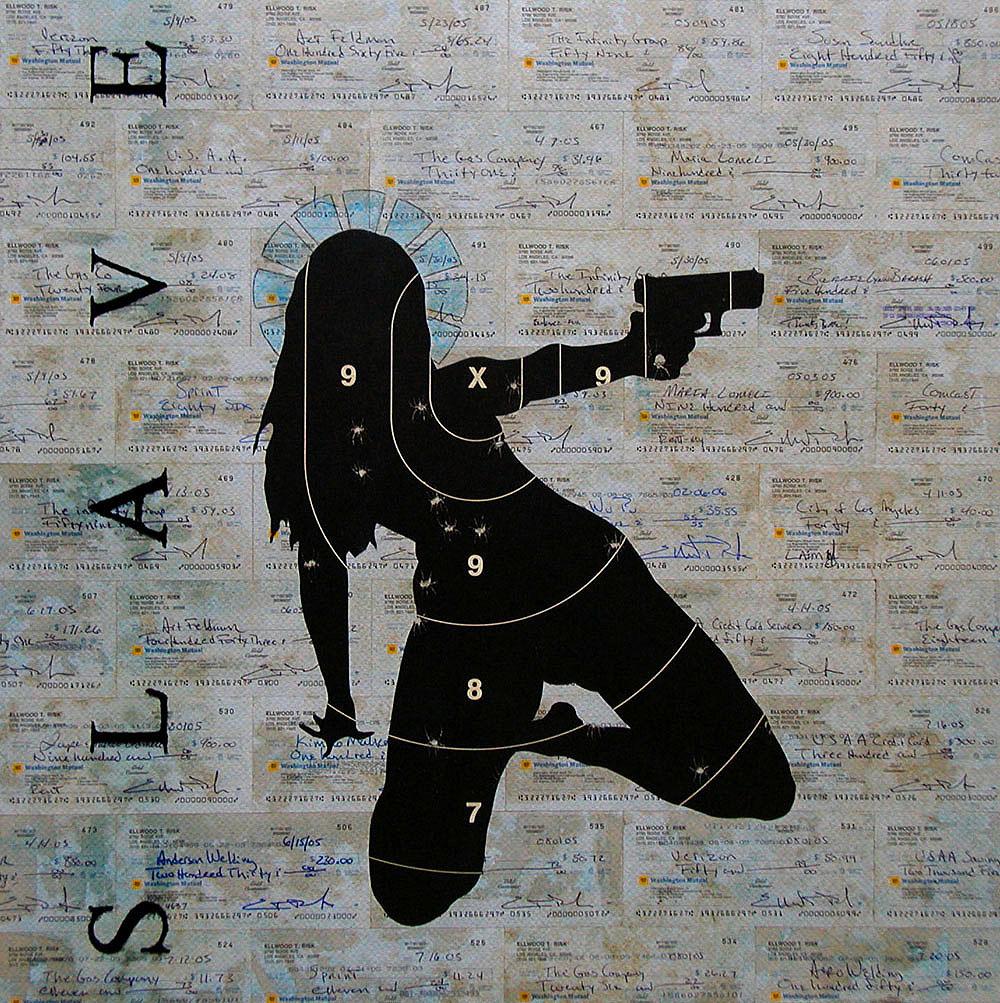 Slave / 24 x 24 / Original Sold