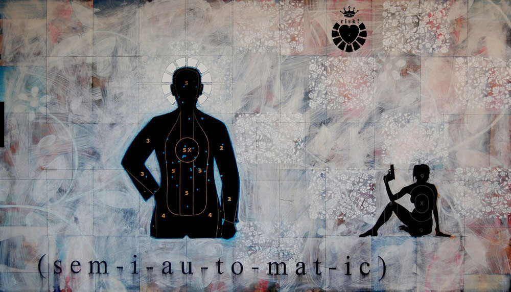 Semiautomatic / 48 x 84 / Original Sold