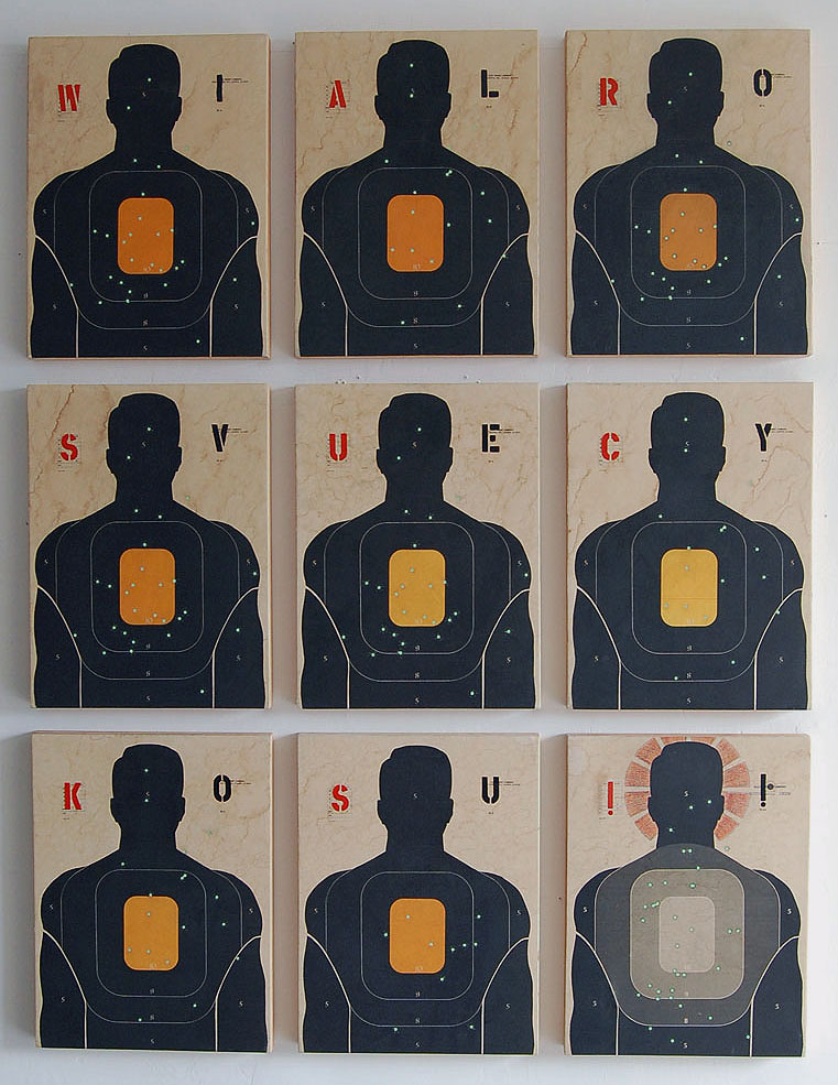 Love & War I / 76 x 54 / Original Sold