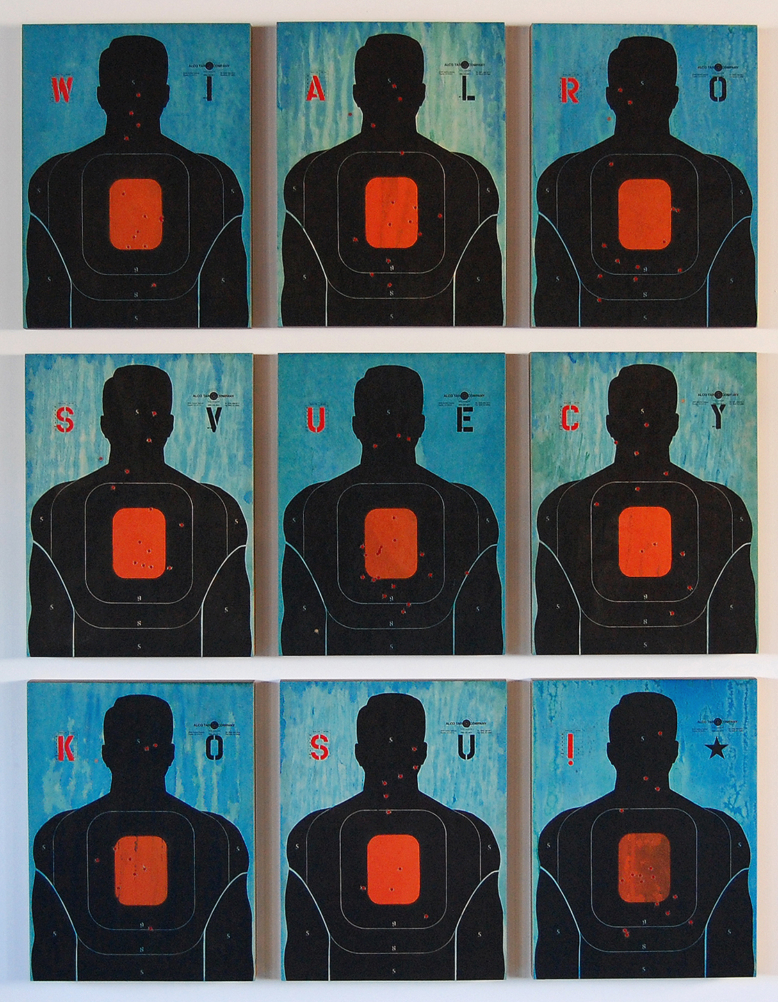 Love & War II / 76 x 52 / Original Sold