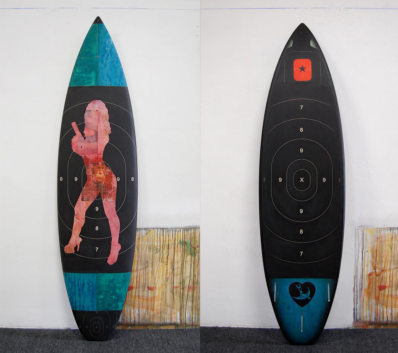 Risk 6'2 Short Board / SquashTail / Sold