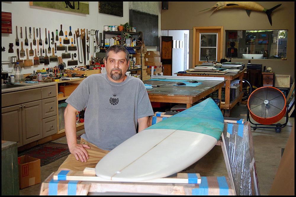 Malibu Benefit Board in Progress