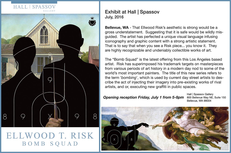 Bomb Squad at Hall Spassov Gallery