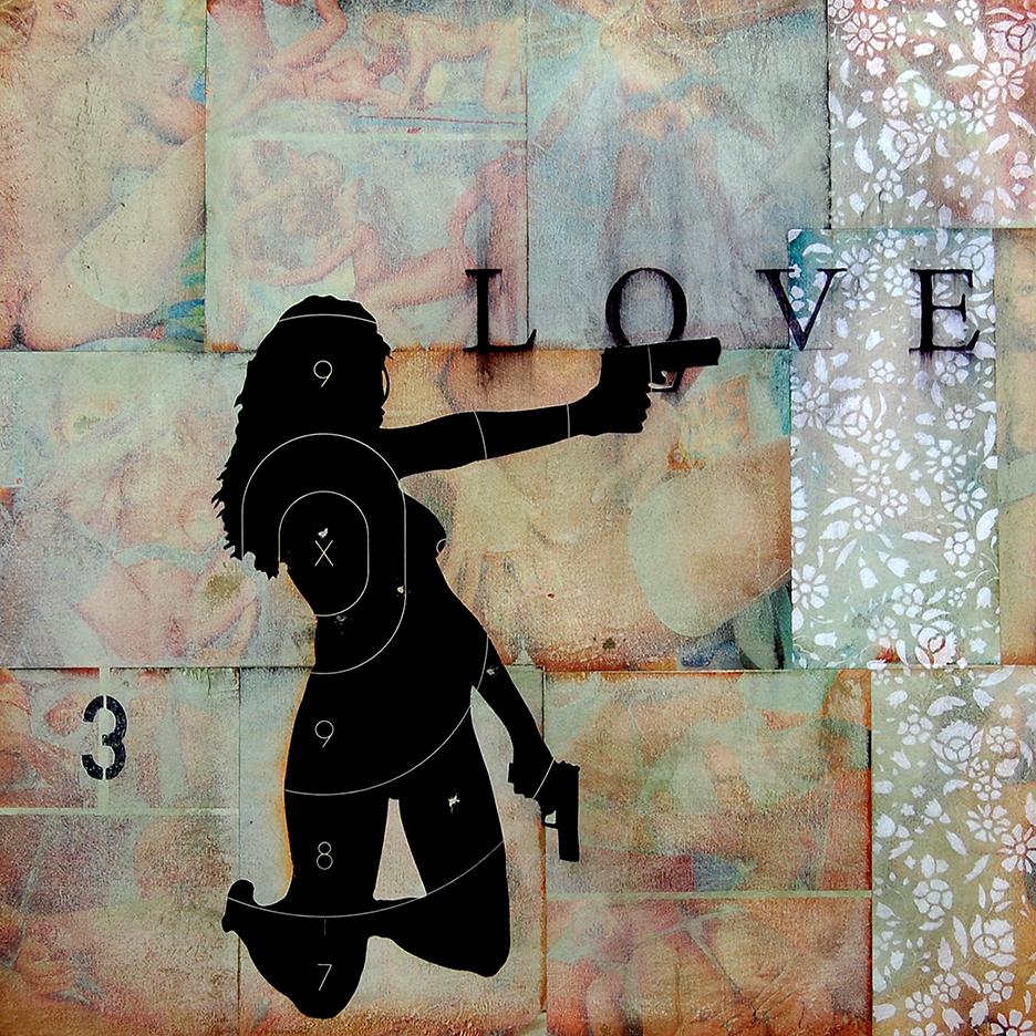 Love / 24 x 24 / Original Sold