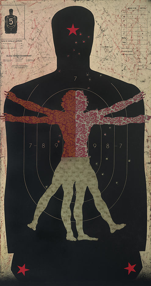 Vitruvian III /35 x 21 / Original Sold