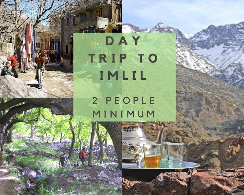 IMLIL - MINIMUM 2 PEOPLE