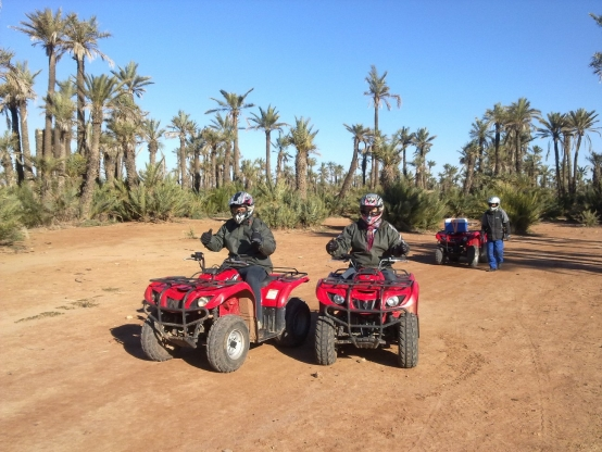 HALF-DAY QUAD BIKING IN MARRAKECH PALMAERIE