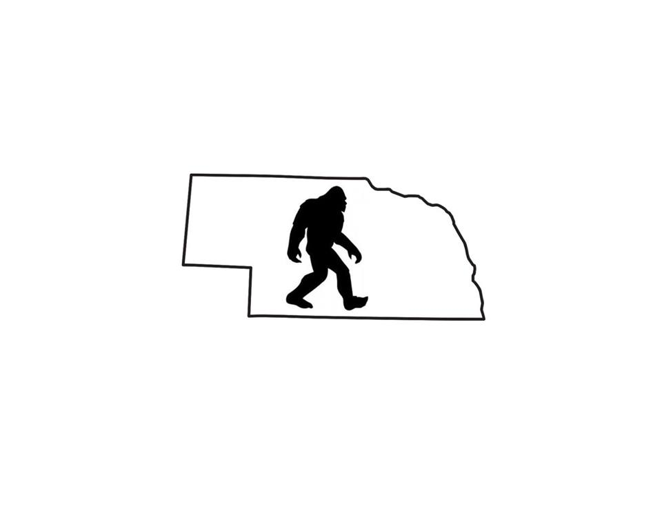 Official event logo taken from the 1st Annual Nebraska Bigfoot Conference's Facebook page.