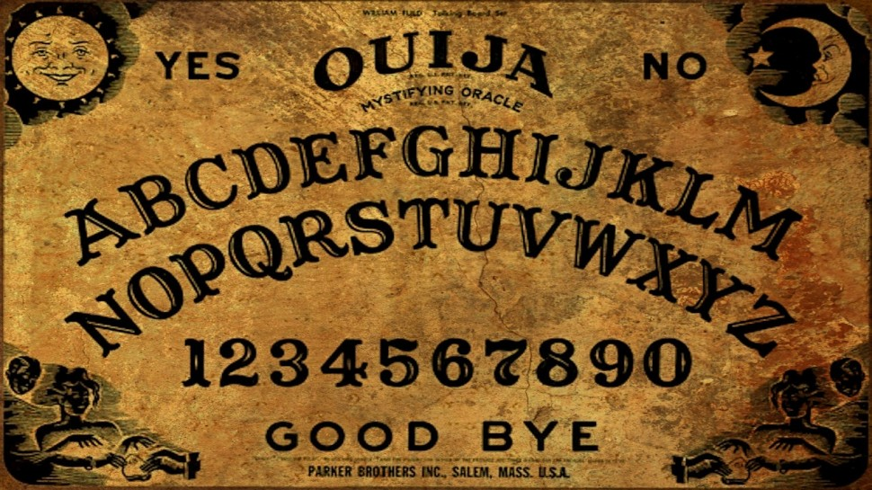 Ouija boards are thought by some to be able to communicate with spirits.