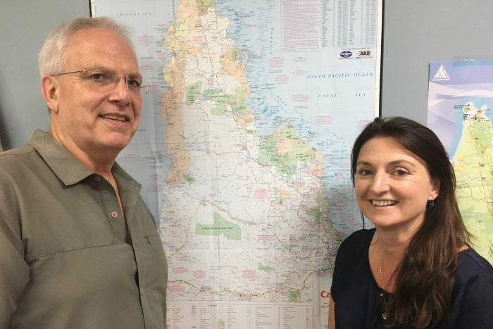 Professor Bill Laurence and Dr. Sandra Abell. (ABC Far North: Mark Rigby)