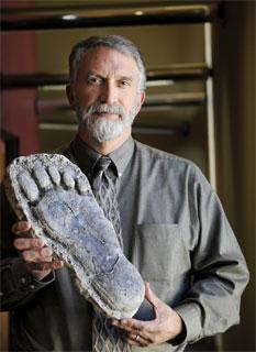 Dr Jeff Meldrum (Image credit: Idaho State University)