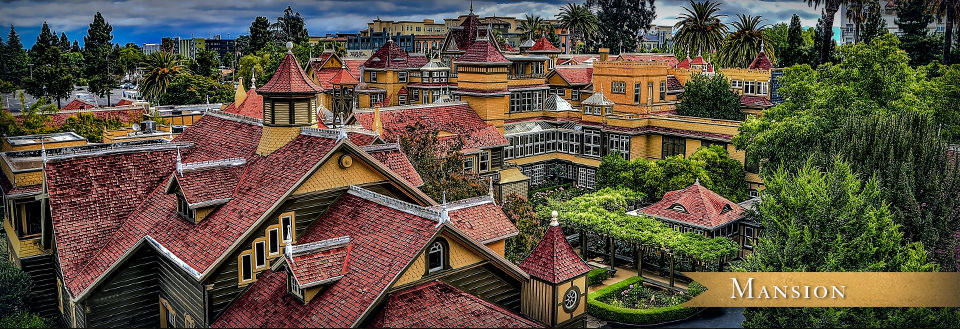 The Winchester Mystery House. (Image credit: winchestermysteryhouse.com)