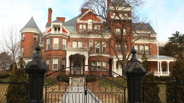 The Governor's Mansion in Albany, NY. (Image credit: Getty Images)