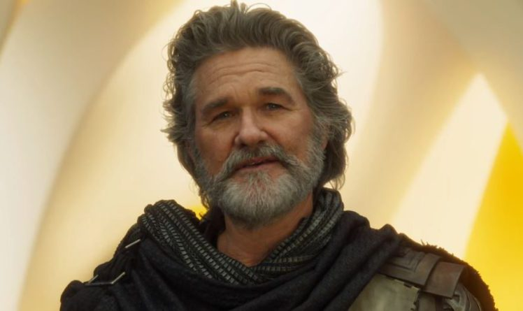 Kurt Russell in Guardians of the Galaxy Vol. 2 (Image credit: YouTube)