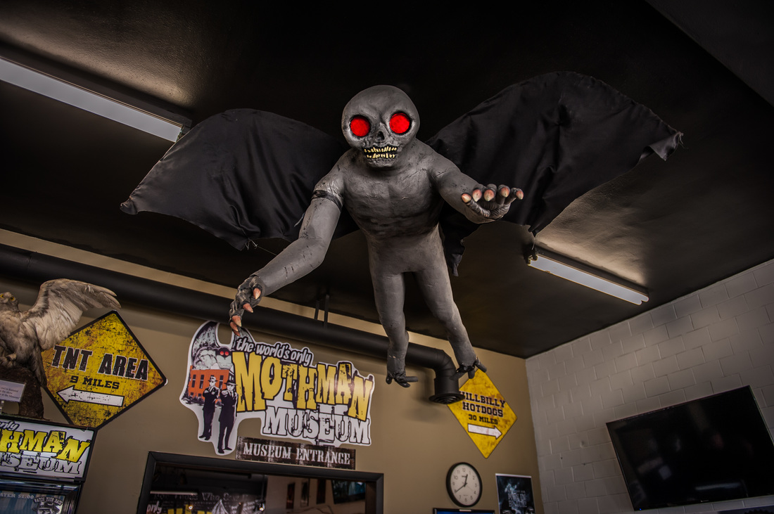 Image Credit: The Mothman Museum