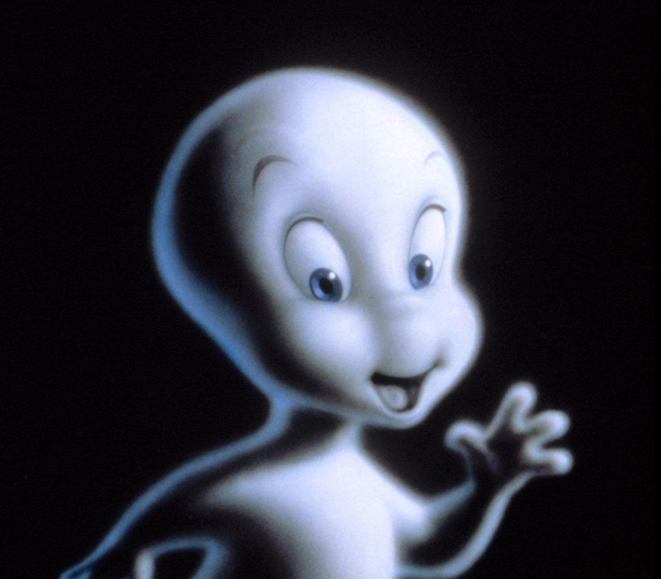 The computer generated Casper from his 1995 film appearance.