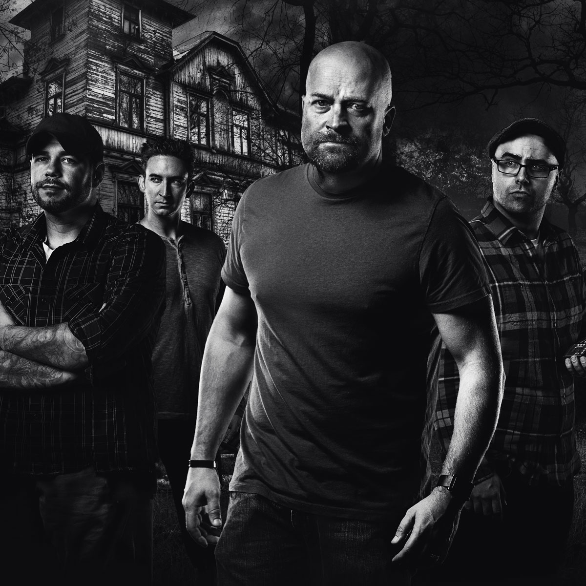 A promotional image from the show's final season. Jason Hawes is pictured center.