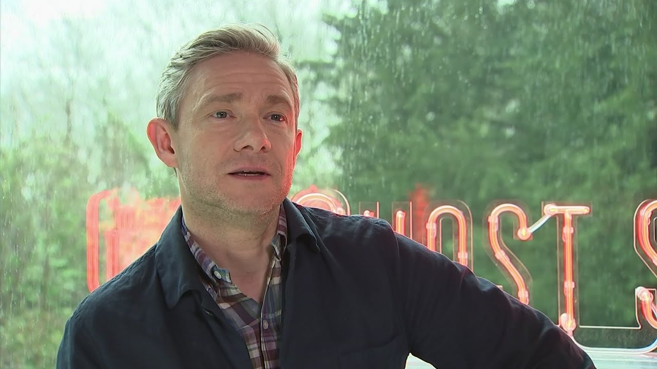 Martin Freeman in his interview with the Associated Press.