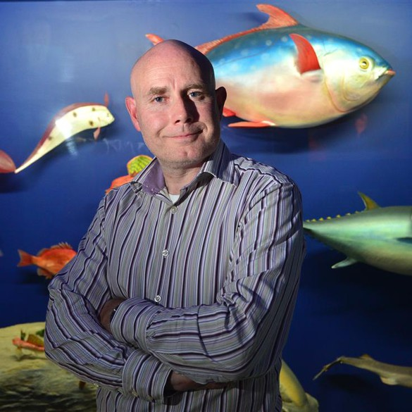 Professor Neil Gemmell researches ecology, population, conservation and evolutionary biology with recent technological spin-offs from the various genome projects. (Image credit: University of Otago)