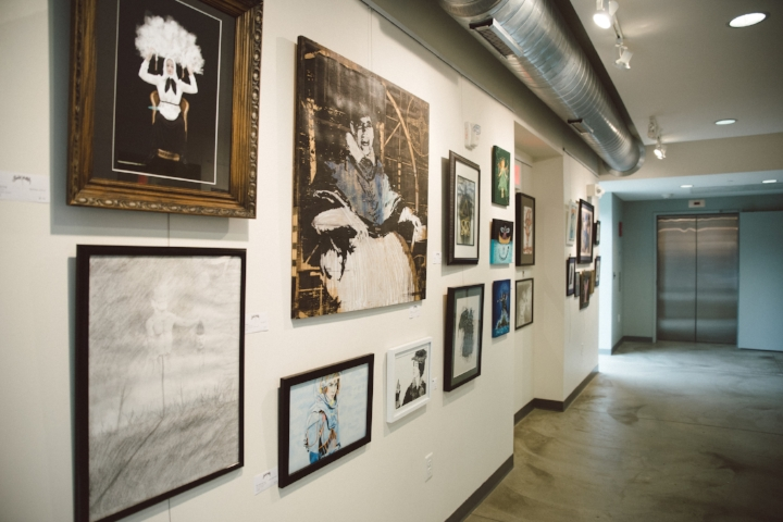 The amount of creativity and care on every wall in the gallery space is a testament to the dedication of Minneapolis's wonderfully weird art community.