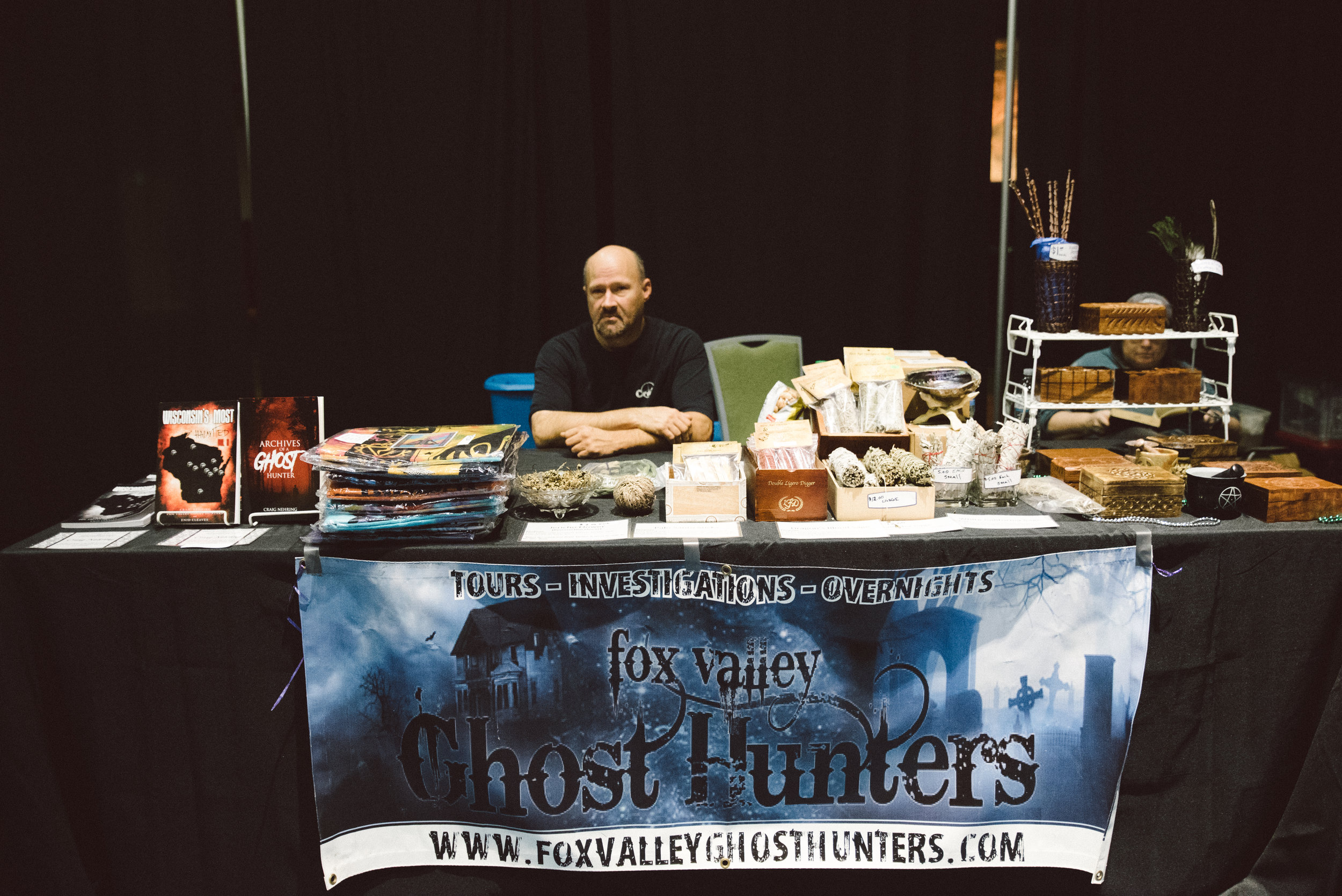 Craig Nehring from Fox Valley Ghost Hunters was there to answer all of your questions regarding the supernatural.