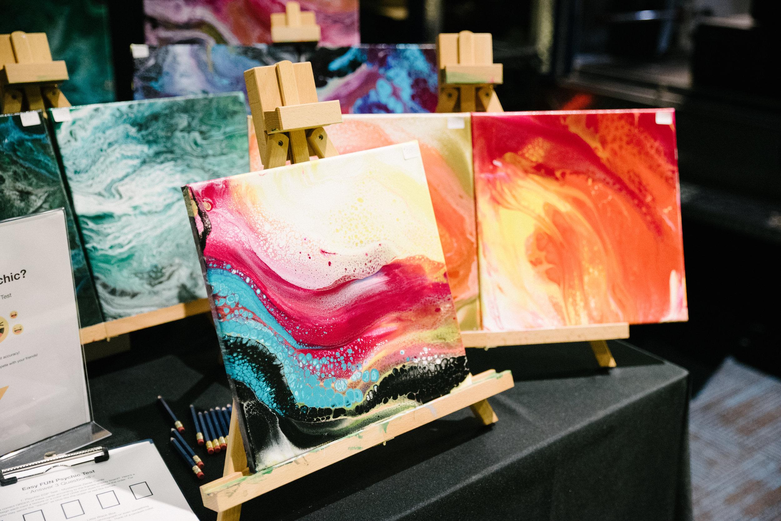 More aura paintings from Nedra Khamsao Yang.