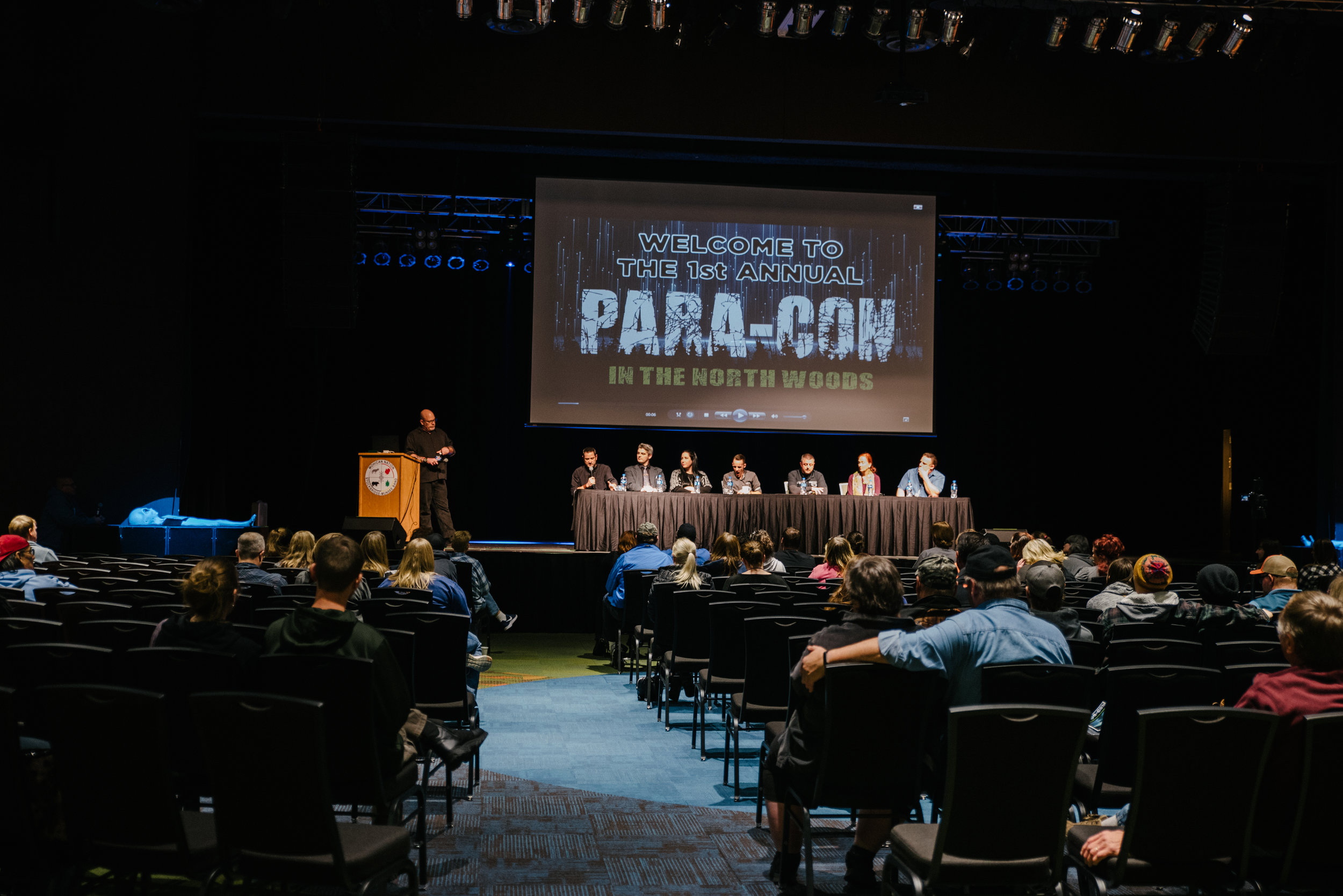 An all-star panel of guest speakers was available to talk about all things paranormal.