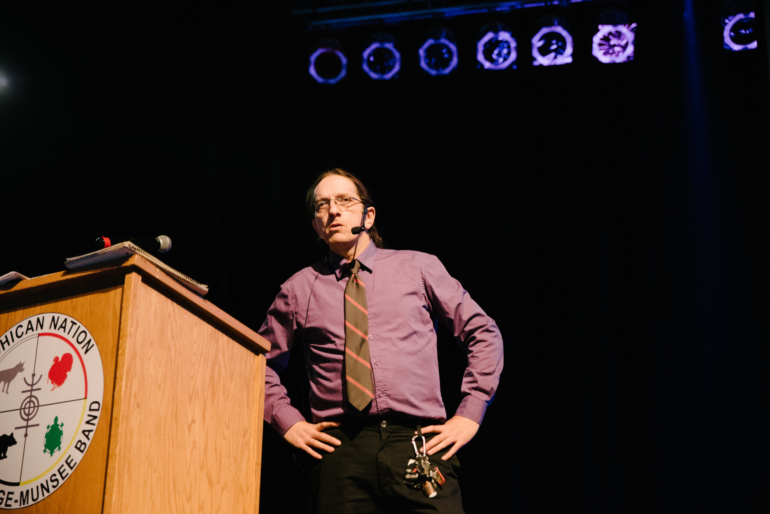 Kevin Malek of the UFO Wisconsin Research Team presented on eerie UFO sightings in Wisconsin.