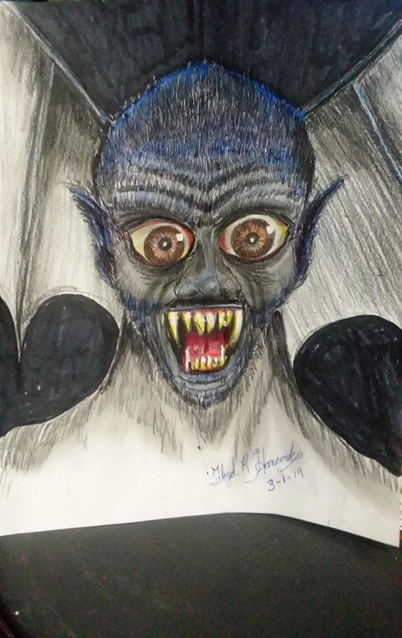 An image of the creature provided by Hancock.  (Image credit: Floyd R. Hancock)