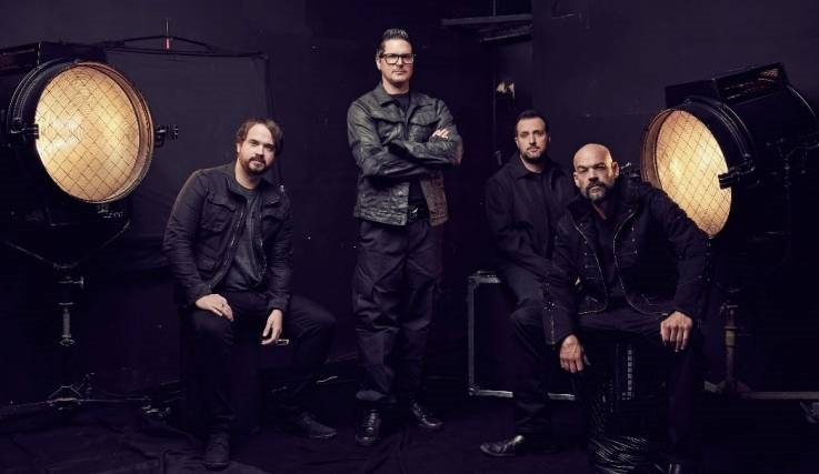 The cast of  Ghost Adventures . Pictured from left to right: Jay Wasley, Zak Bagans, Billy Tolley, Aaron Goodwin.  (Travel Channel)